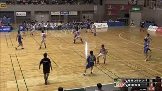 日本ハンドボールリーグ 琉球コラソン vs 豊田合成 後半