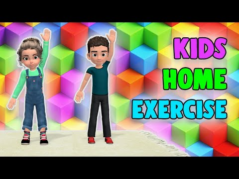 Kids Home Exercises: Workout To Stay Active At Home