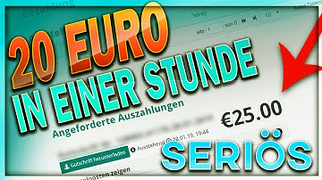 Geld verdienen im Internet   SERIÖS 20 € in EINER STUNDE    Top Internetseite Testbird