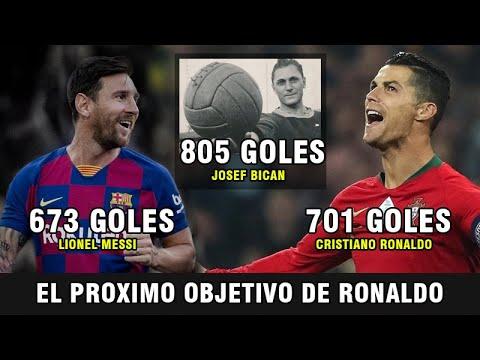 805 GOLES: El Récord Supremo deseado por Messi y Ronaldo