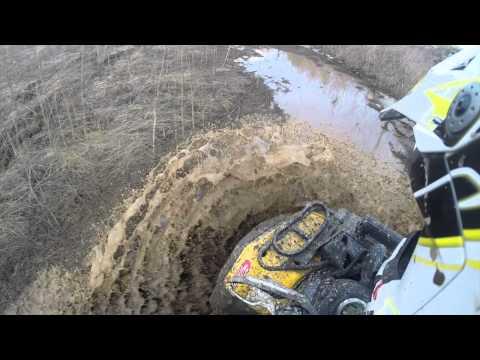 Trial-Cross ATV подготовка трассы Полевской
