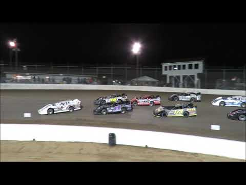 I 55 Raceway 5 05 218 Late Model Heat Race #2 and Feature #6 Dave Armstrong