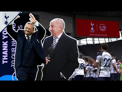 Mabbutt v Ardiles in NHS staff football match at Tottenham Hotspur Stadium!