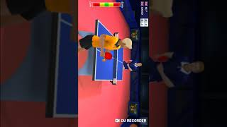 Playing table tennis champion and Table tennis 3d