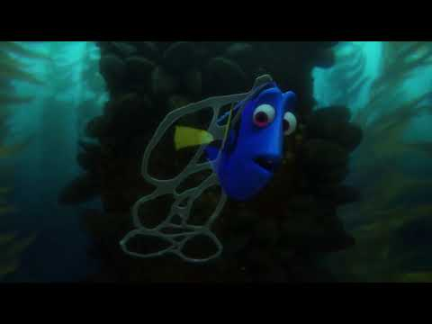 Image result for dory trapped in plastic