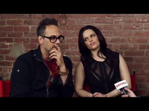 Todd Stashwick and Emily Hampshire Discuss Their