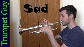 XXXTENTACION - Sad (Trumpet Cover)