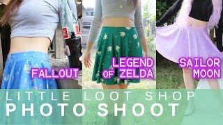 Little Loot Shop Photoshoot - Fallout, Legend of Zelda, & Sailor Moon