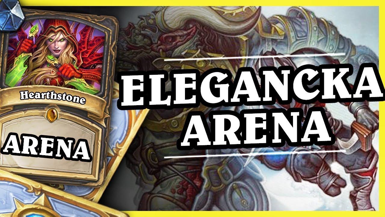 ELEGANCKA ARENA – ROGUE – Hearthstone Arena