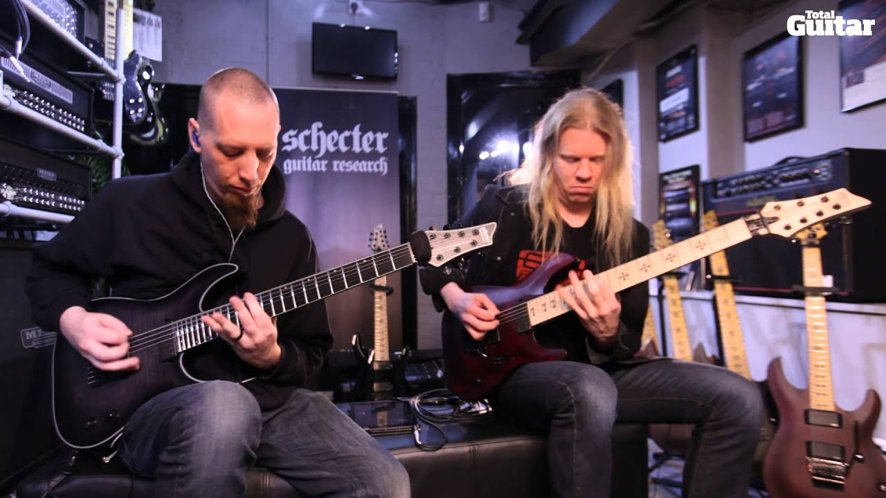 Jeff Loomis and Keith Merrow play Tethys for Total Guitar