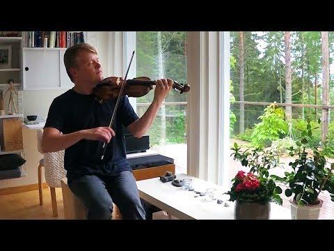 Finnish Folk Music - Pekka Kuusisto Home Video - August 2017 (Philharmonia Orchestra)