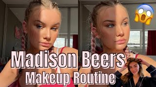 i tried madison beer's makeup.. and OMG
