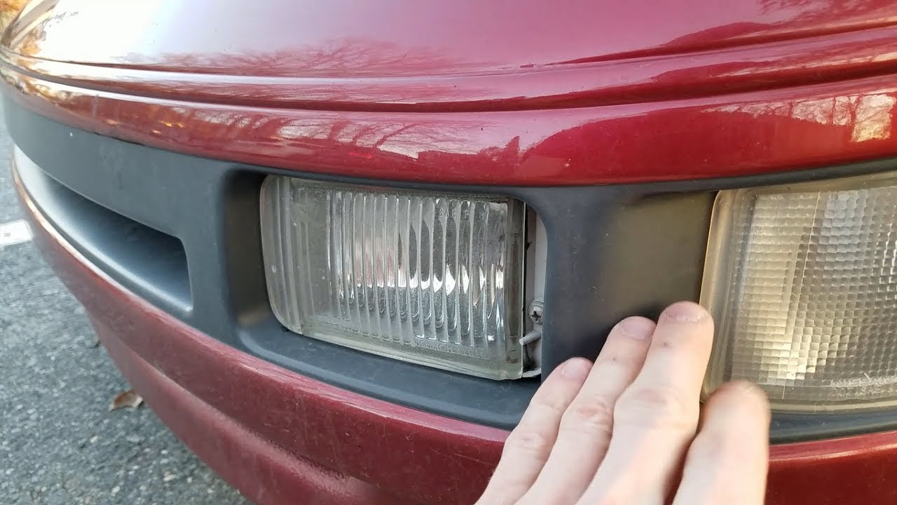 Fog Light Removal Bulb Replacement On A Nissan 300zx Simple Easy
