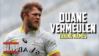 Duane Vermeulen | Taking Names