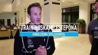 Rondleiding | Bart van Hintum en Paul Gladon laten je het spelershotel zien