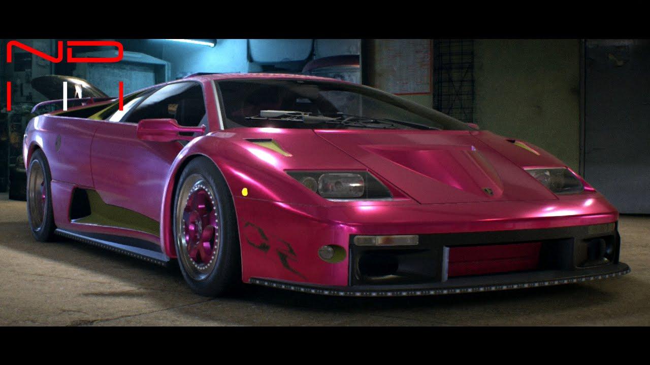 Morohoshi S Lamborghini Diablo Sv 1999 Nfs2015 Sound Youtube