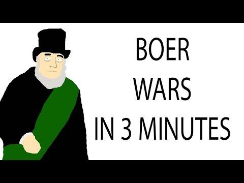 Boer Wars | 3 Minute History