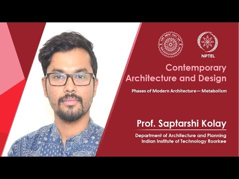 NPTEL :: Architecture - NOC:Contemporary Architecture and Design