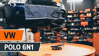 Πώς αλλαζω Ελατήρια ανάρτησης VW POLO (6N1) - δωρεάν διαδικτυακό βίντεο