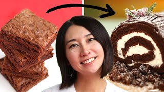 Can This Chef Make Brownie Mix Fancy? •Tasty