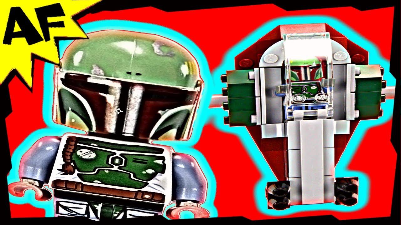 Boba Fett Mini Slave 1 Lego Star Wars Celebration Vi Limited Edition