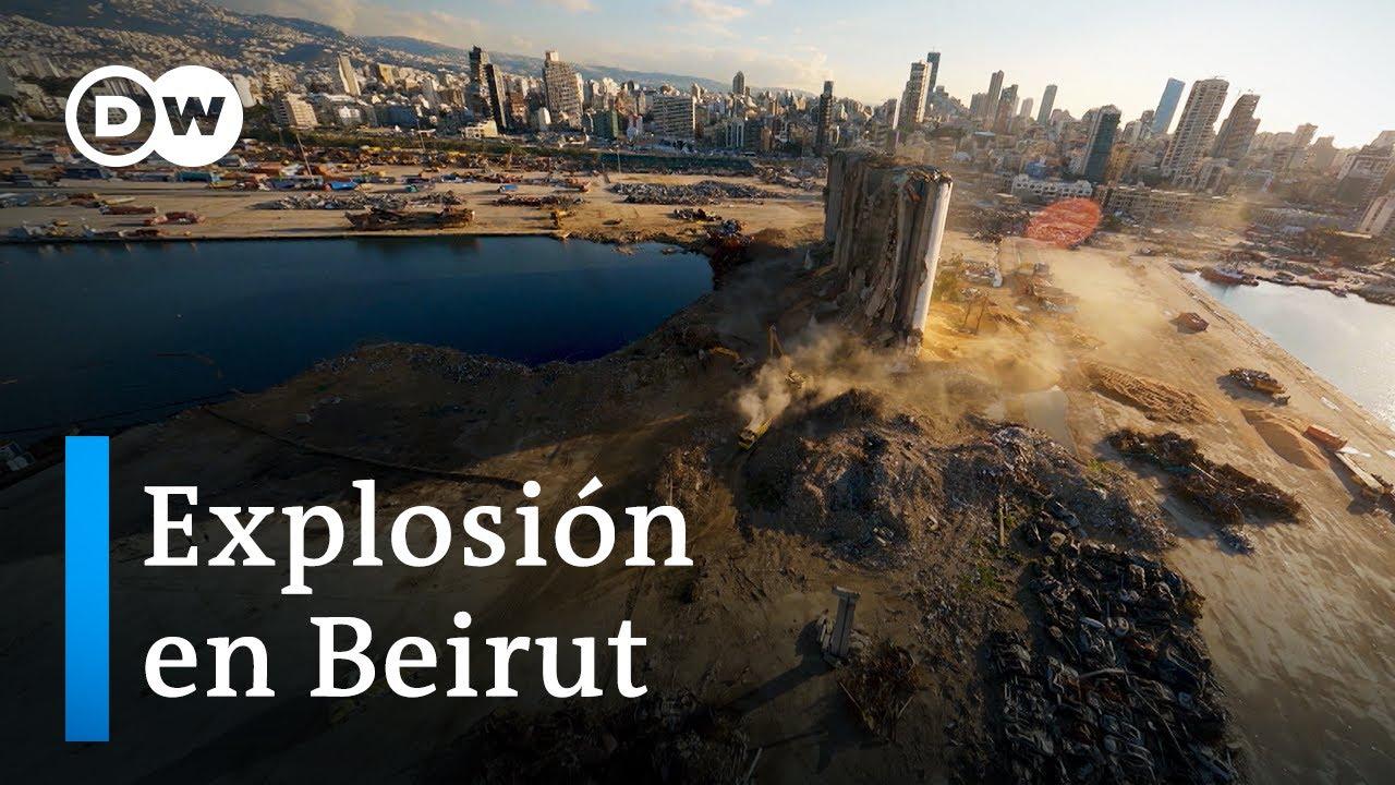 Explosión en el puerto de Beirut   DW Documental