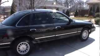 Ford Crown Vic Stock Audio (Before subwoofers)