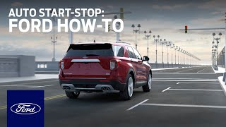 homepage tile video photo for Auto Start-Stop   Ford How-To   Ford