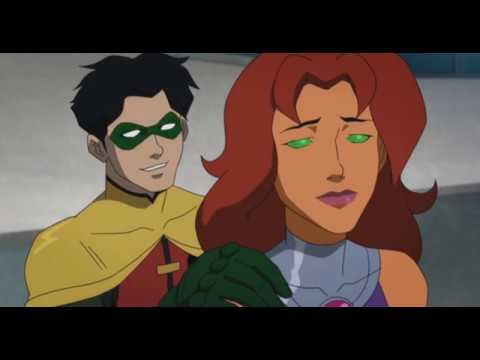 Как титаны нашли Старфаер.Опять поцелуй?
