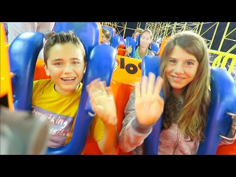 VLOG - SENSATIONS FORTES à EUROPARK avec une amie - Parc d'Attractions et Manèges - 1/2