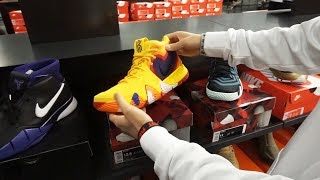 The Sole Brothers VLOG #87 MODELING | NIKE STORE | FOOD