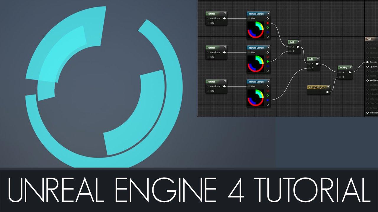 Unreal Engine 4 Sci - Fi RGB Material Tutorial
