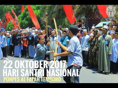 Atraksi Persembahan Ponpes Al Fatah di Hari Santri Nasional, Magetan 22 Oktober 2017 / Part 1
