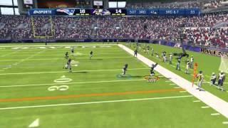 Madden 13 Ranked Gameplay Patriots vs Ravens AFC Championship
