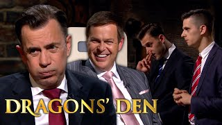 Duncan Tries To Play Peter At His Own Game! | Dragons' Den
