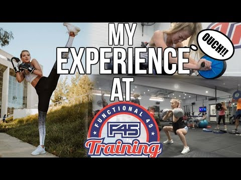 MY HONEST OPINION ON F45! My first experience & the workouts!