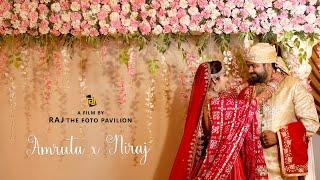 AMRUTA & NIRAJ  HIGHLIGHT  |  RAJ the foto pavilion - Parvat Patiya, Surat