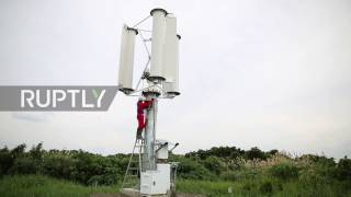 Japan: 'Typhoon turbines' could power the world after a single storm