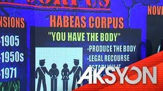 EXPLAINER: Writ of habeas corpus