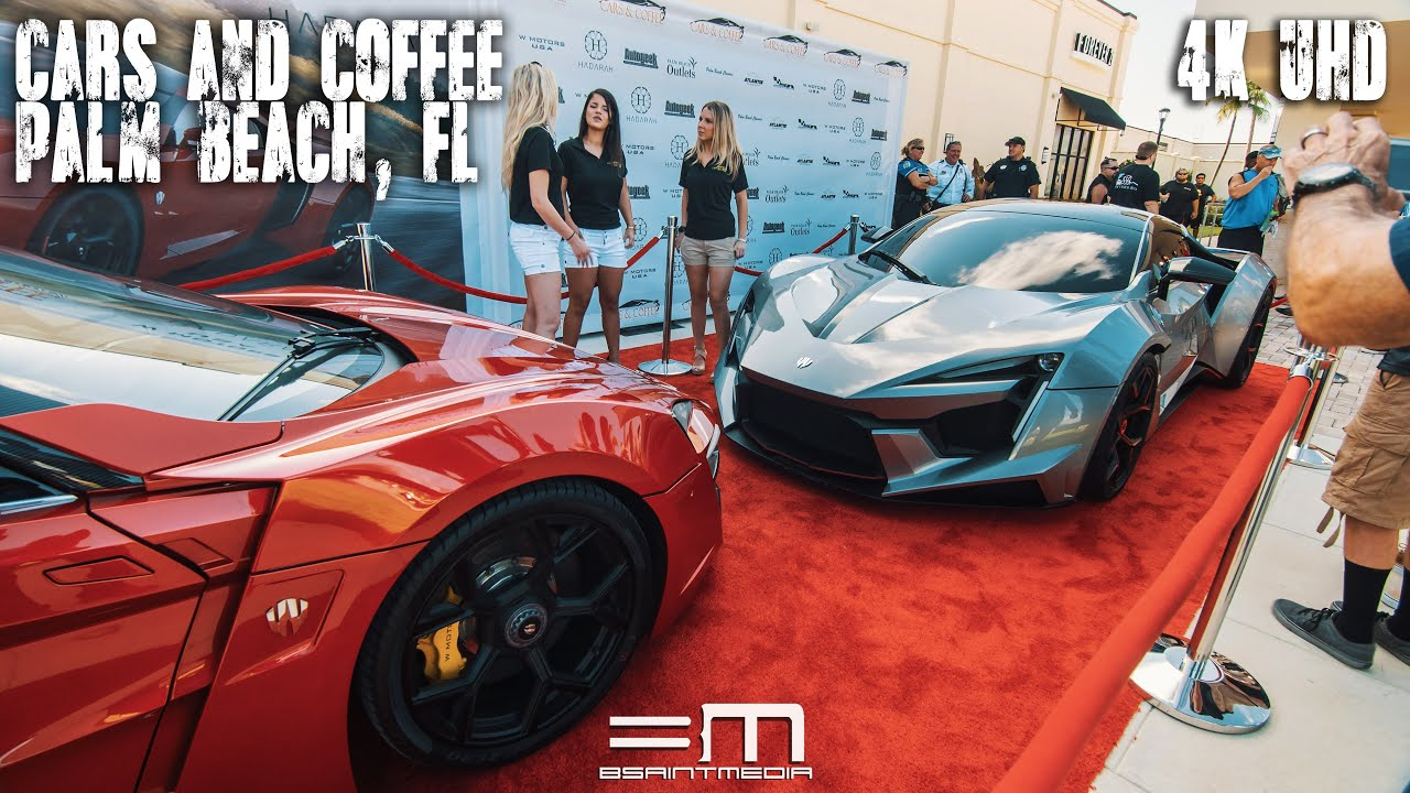 Cars Coffee Palm Beach FL K UHD YouTube - Palm beach car show