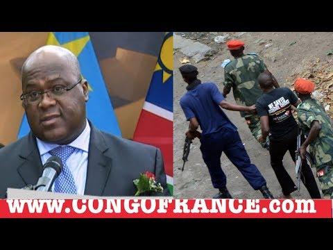 FELIX TSHISEKEDI URGENCE POUR LA RDC, ARRESTATION ET LIBERATION JOURNALISTE DE CONGOFRANCE