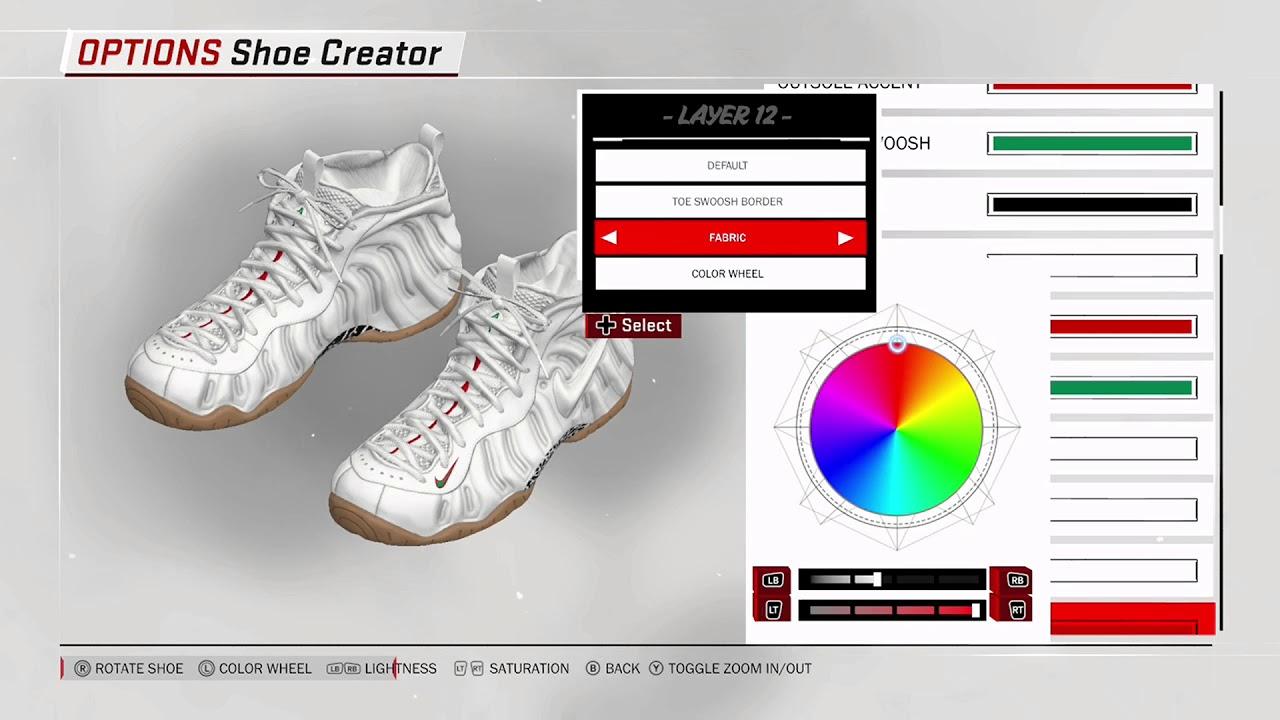 01c5616c1e2 NBA 2K18 Shoe Creator Nike Foamposite Pro
