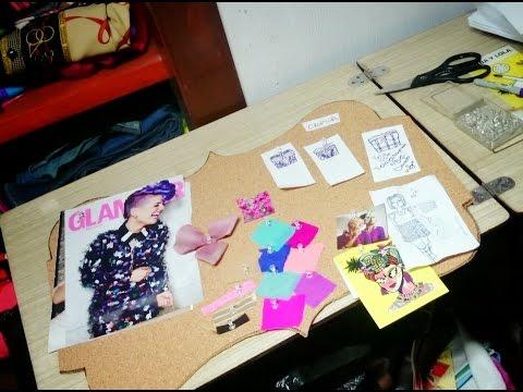 Cómo hacer un fashionmoodboard o muro de inspiración