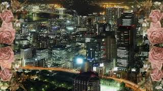 The scenery which photographed from an observatory of Tokyo Tower ...