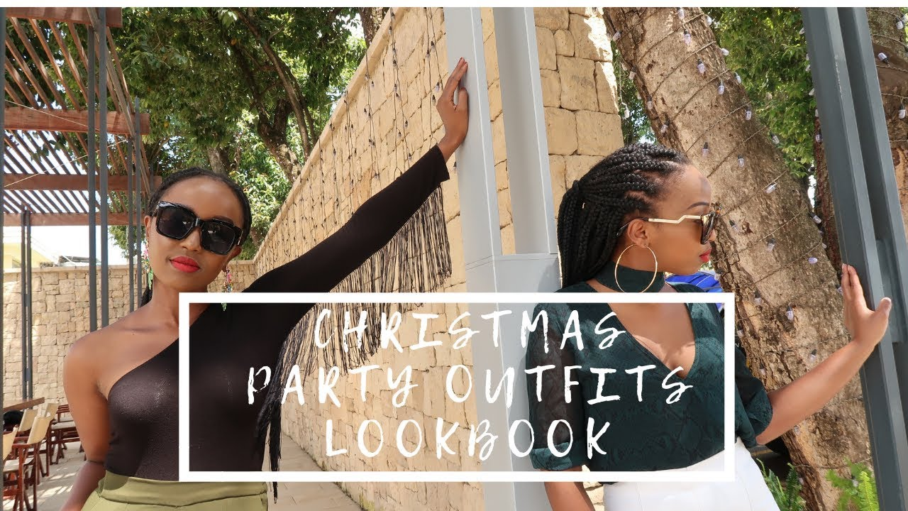 [VIDEO] - CHRISTMAS PARTY OUTFIT IDEAS LOOKBOOK FT SHARON MWANGI 3