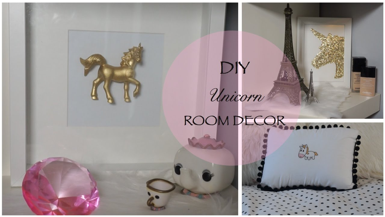 Diy Unicorn Decor Youtube