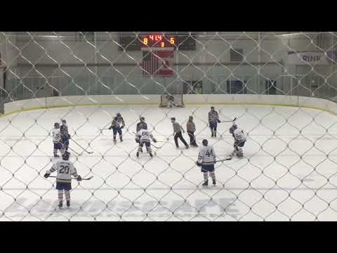 Eds Hockey 30- Goalie Fight