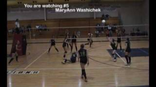 Mary Ann Washichek-Volleyball recruiting video