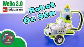 Lần đầu chế tạo Robot Ốc Sên với Wedo 2.0 Lego Education Toystation