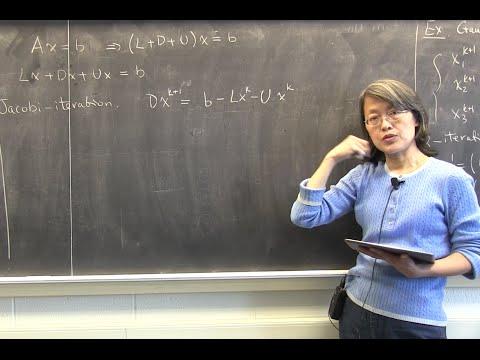 CMPSC/Math 451. March 20, 2015. Gauss-Seidel, SOR. Wen Shen